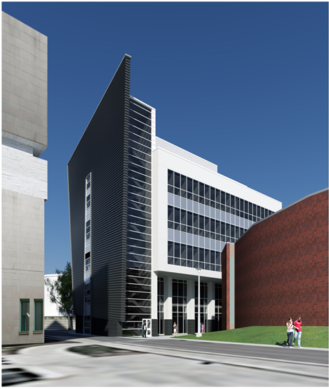Arthur Bourns Building - Architectural Rendering